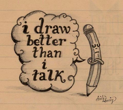 Dirty Harry - I draw better than i talk