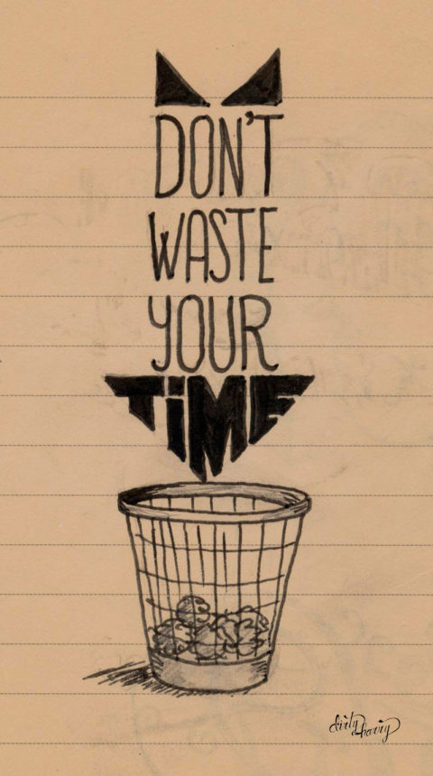 Dirty Harry - Don't waste your time