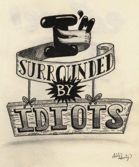 Dirty Harry - I'm surrounded by idiots