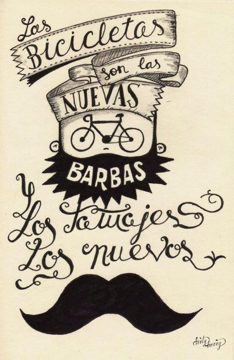 Dirty Harry - Las bicicletas son las nuevas barbas y los tatuajes los nuevos bigotes