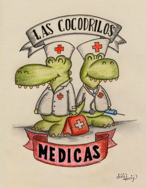 Dirty Harry - Las cocodrilas medicas