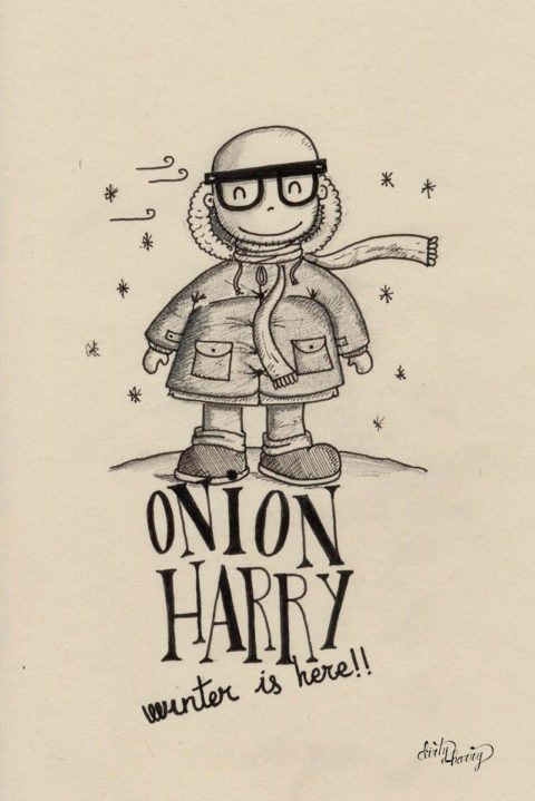 Dirty Harry - Onion Harry. Winter is here