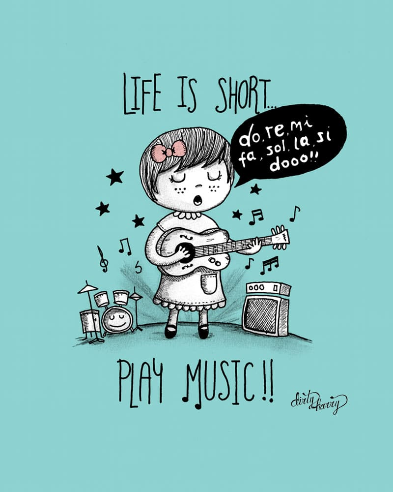 Dirty Harry - Life is short. Play music 01