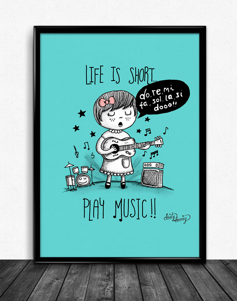 Dirty Harry - Life is short. Play music