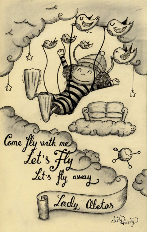 Dirty Harry - Lady aletas. Come fly with me