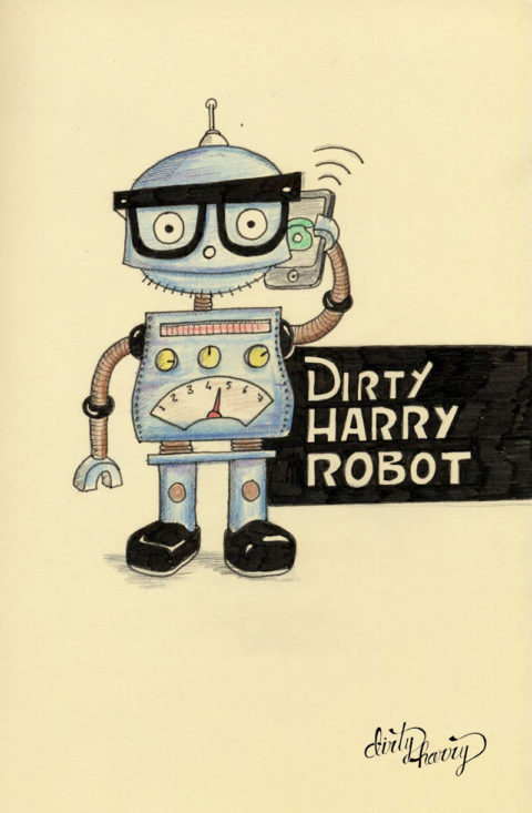 Dirty Harry - Dirty Harry robot