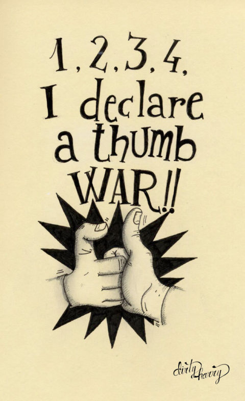 Dirty Harry - I declare a thumb war