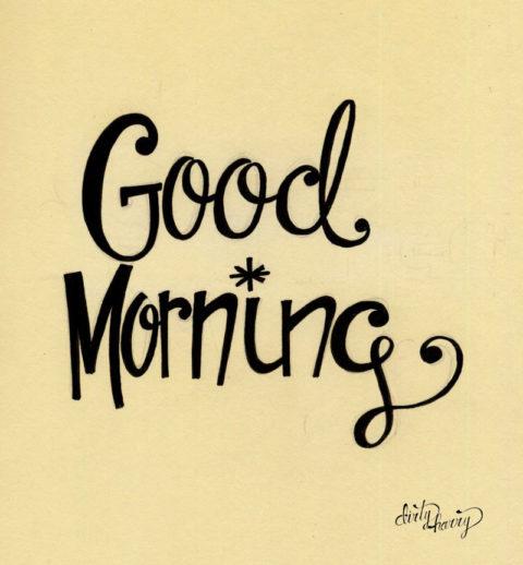 Dirty Harry - Good morning