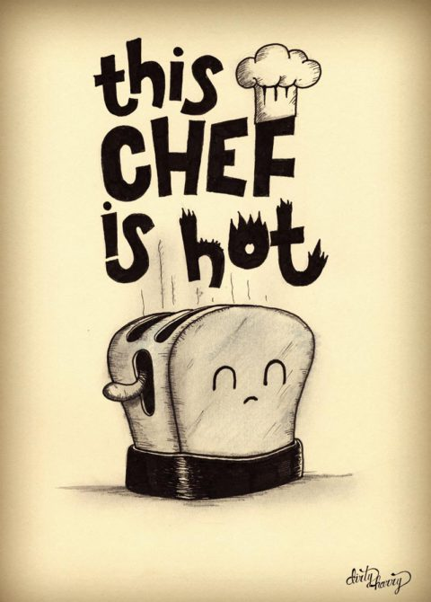 Dirty Harry - This chef is hot