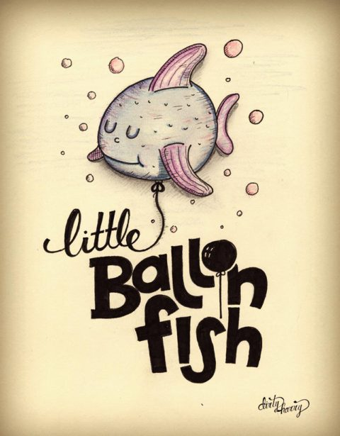 Dirty Harry - Little ballon fish