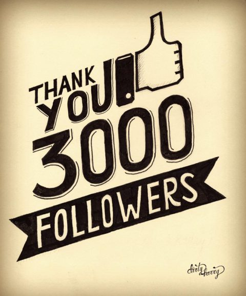 Dirty Harry - Thank you 3000 followers