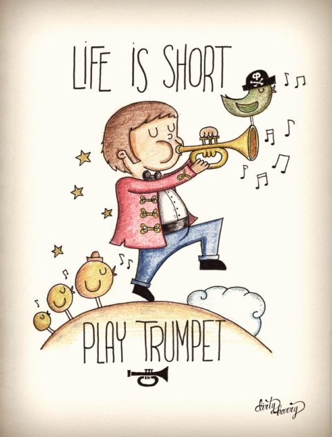 Dirty Harry - Life is short play trumpet