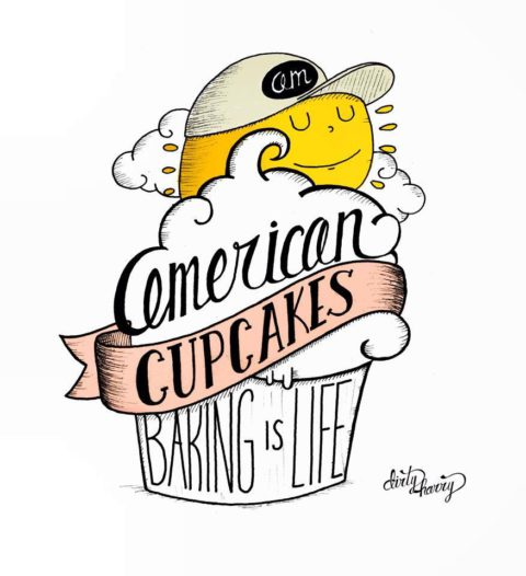 Dirty Harry - American cupcakes, baking is life