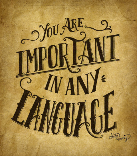 Dirty Harry - You are important in any language