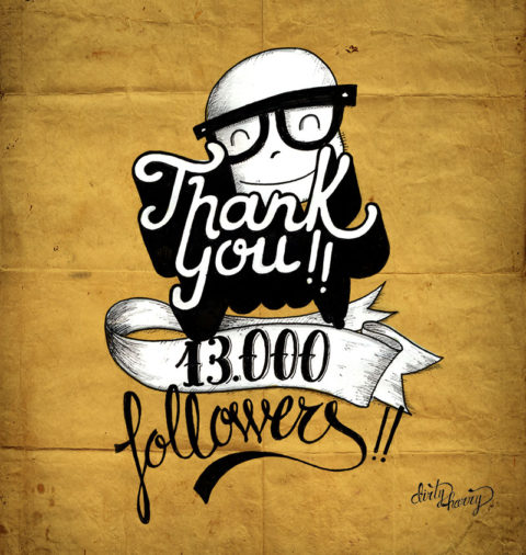 Dirty Harry - Thank you 13000 followers