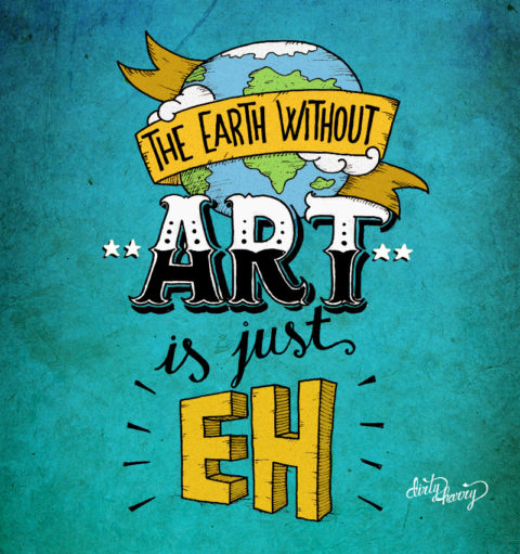 Dirty Harry - The Earth without art is just EH