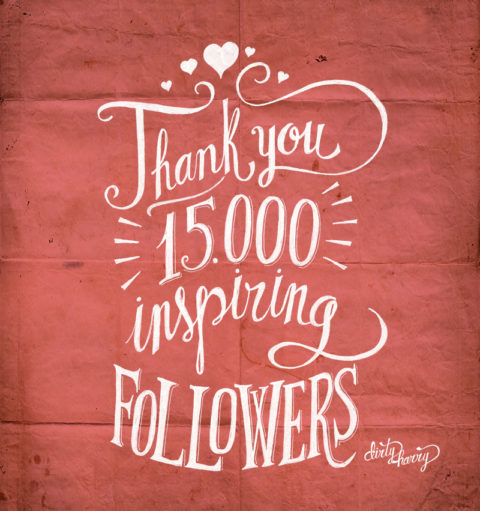 Dirty Harry - Thank you 15000 inspiring followers