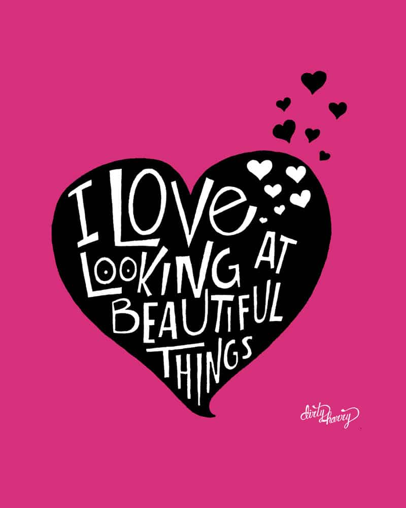 Dirty Harry - I love looking at beautiful things 01