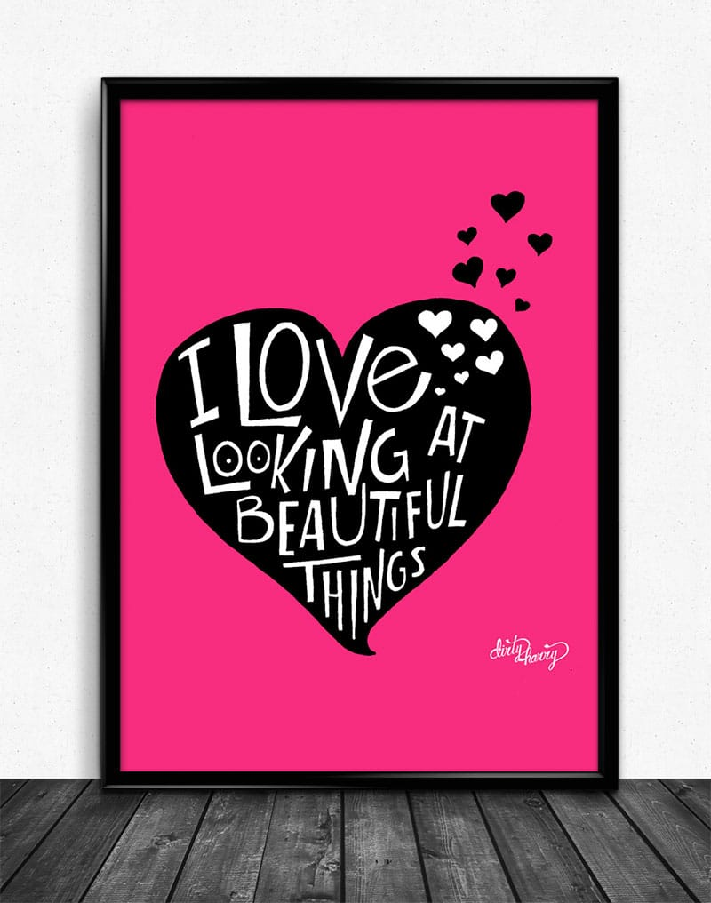 Dirty Harry - I love looking at beautiful things