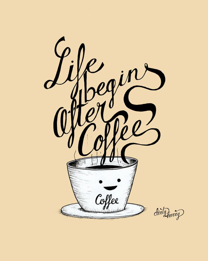 Dirty Harry - Life begins after coffee 01